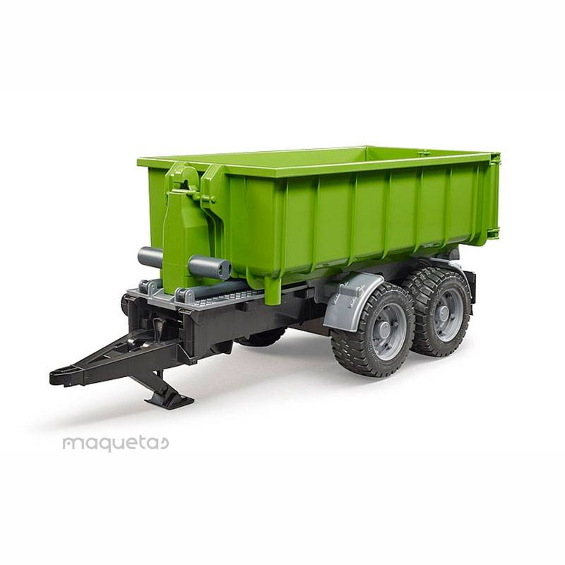 Remolque container descargable - Miniatura 1:16 - Bruder 02035
