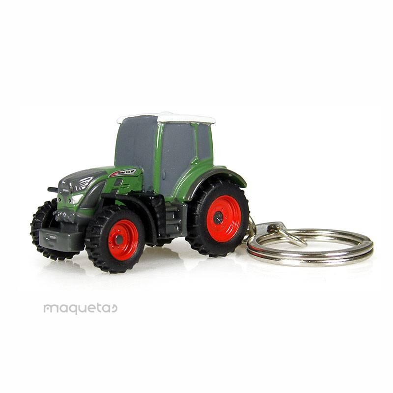 Llavero de tractor Fendt 516 - UH 5802