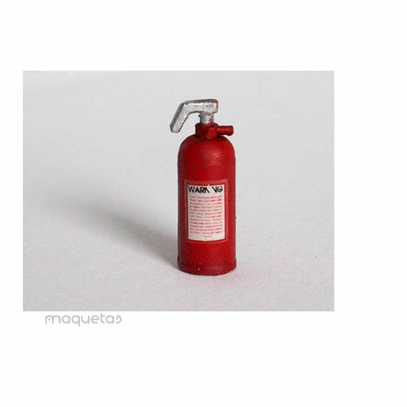 Kit 4 extintores de incendios - Para Maquetar - Miniatura 1:35 - Plus Model EL005