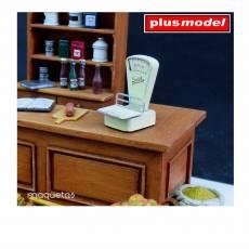 Kit tienda de comestibles - Para Maquetar - Miniatura 1:35 - Plus Model 336