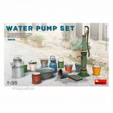Kit conjunto bomba de agua - Para Maquetar - Miniatura 1:35 - MiniArt 35578