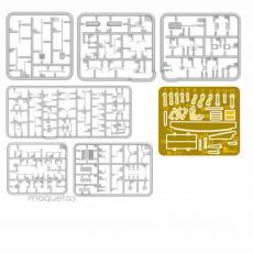 Kit de herramientas de taller - Para Maquetar - Miniatura 1:35 - MiniArt 35603