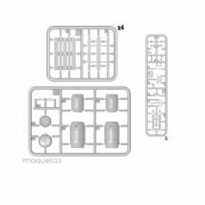 Kit de transpaletas, palets y bidones - Para Maquetar - Miniatura 1:35 - MiniArt 35606