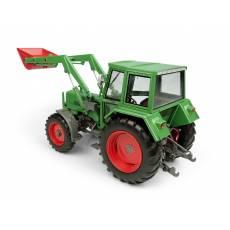 """Tractor Fendt Farmer 108LS con cabina """"Edscha"""" y cargador frontal - 4WD - Miniatura 1:32 - UH 5251"""