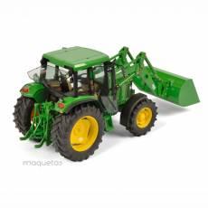 Tractor John Deere 6300 con pala - Miniatura 1:32 - Schuco 450773300