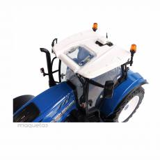 Tractor New Holland T6.180 « Heritage Blue Edition » Miniatura 1:32 - UH 6234