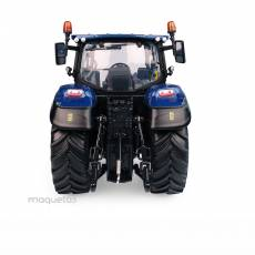 Tractor New Holland T5.140 Blue Power - Visión panoramica - Miniatura 1:32 - UH 6223