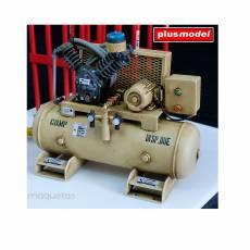 Kit equipo de reparación de neumáticos - Para Maquetar - Miniatura 1:35 - Plus Model 519