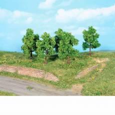 5 Árboles frutales de 7 cm - Miniatura Heki 19111