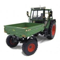 Tractor FENDT 360 GT con plataforma - Miniatura 1:32 - Weise 1008
