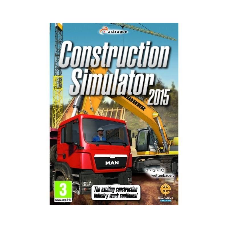 SIMULADOR CONSTRUCCION 2015 - Videojuego PC - 80010107