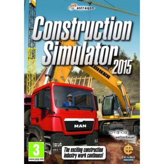 SIMULADOR PC CONSTRUCCION 2015 - Videojuego PC - 80010107