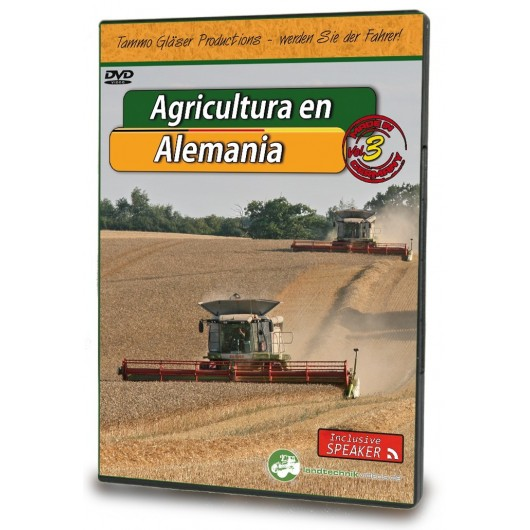 AGRICULTURA EN ALEMANIA Vol. 3 (ES) - DVD
