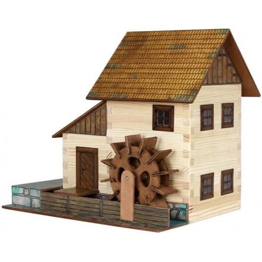 MOLINO DE AGUA de madera para construir - Miniatura 1:32 - Walachia 16