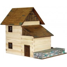 MOLINO de madera para construir - Miniatura 1:32 - Walachia 16