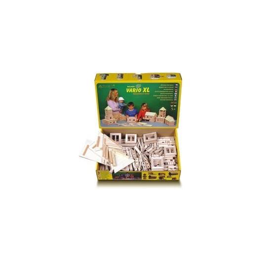 VARIO XL 17 - 184 piezas construcciones diferentes de madera - Miniatura 1:32 - Walachia 21