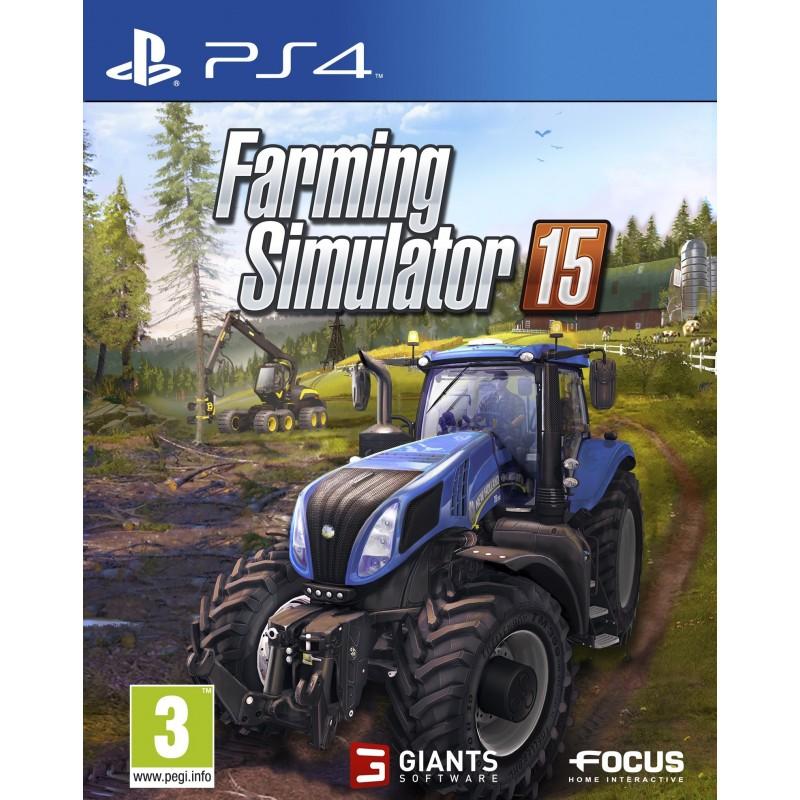 Simulador FARMING 2015 para PS4 - Videojuego Play Station 4 - 80010108