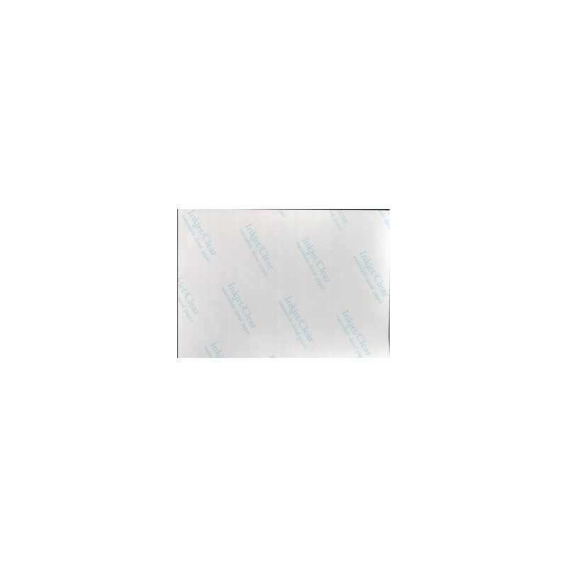 Hoja para CALCO TRANSPARENTE Inkjet 210 x 150 - 1 ud. - A2M - 18553