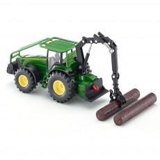 Tractor JOHN DEERE forestal- Miniatura 1:50 - Siku 1974