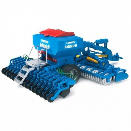 Sembradora de cereal neumática Lemken Solitair 9 - Miniatura 1:16 - Bruder 02026