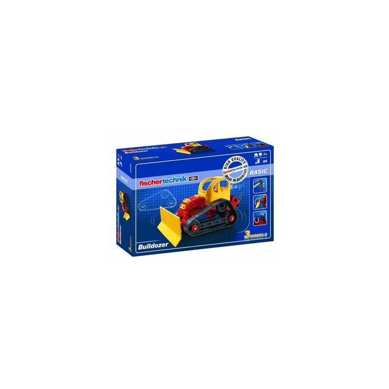 Kit Básico BULLDOZER Construcciones 3 modelos - Juguete - FISHERtechnick 520395