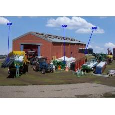 TUBOS DE RIEGO color azul - Miniatura 1:32 - ARTESANIA 0001