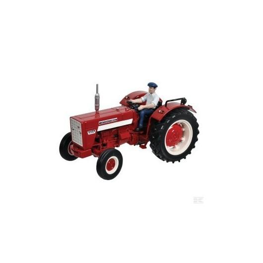 Tractor IH 624 con conductor-  Miniatura 1:32- Replicagri REP031