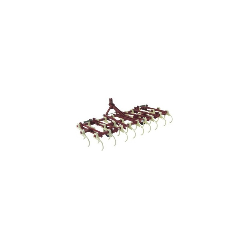 VIBROCULTOR IH 45 con extensiones desmontables 2.60-3.60 m. - Miniatura 1:32- Replicagri REP070