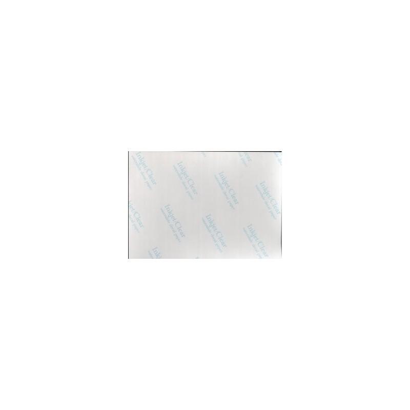 Hoja TRANSPARENTE CALCOMANIA Inkjet 300 x 210 - 1 ud. - 18555