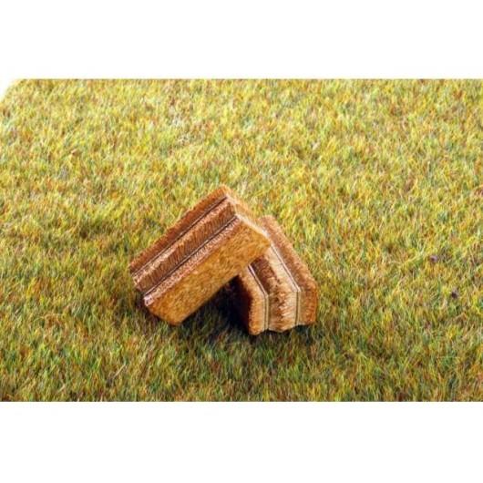Par de paquetes de paja rectangulares - Miniatura 1:32 - ADF 32502
