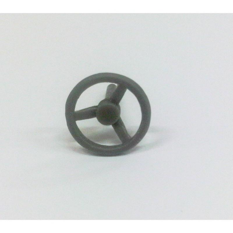 VOLANTE 01 de 13 mm de diámetro para tractor - Miniatura 1:32 - Artisan 04541