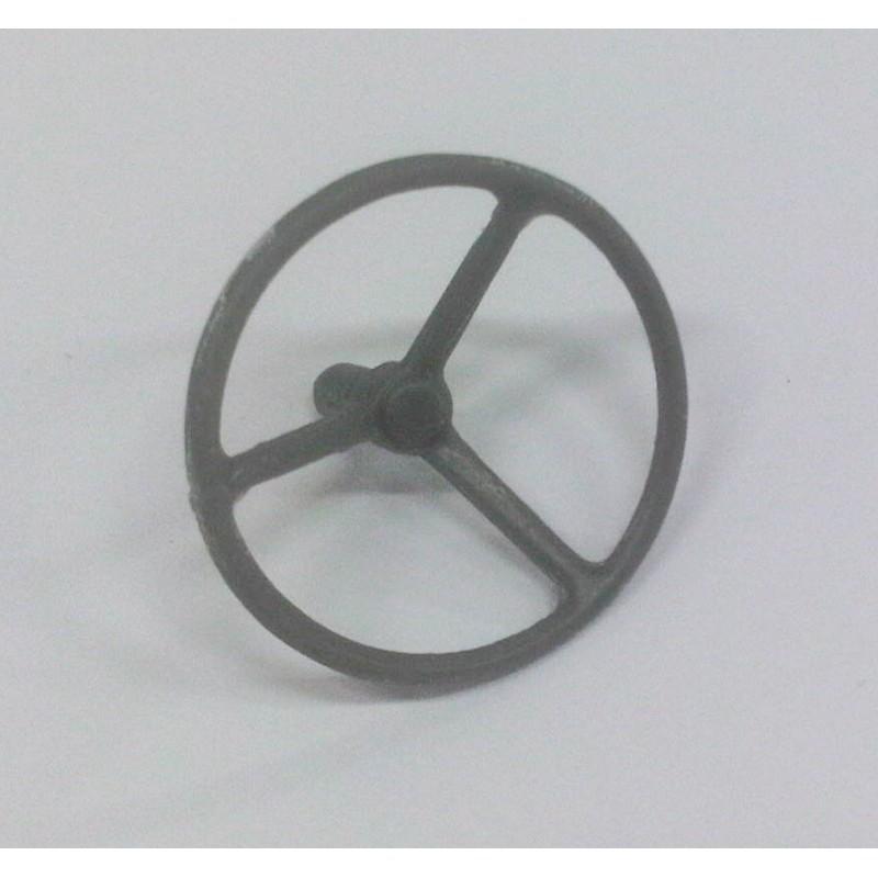VOLANTE 06 de 16.5 mm de diámetro para tractor - Miniatura 1:32 - Artisan 04546