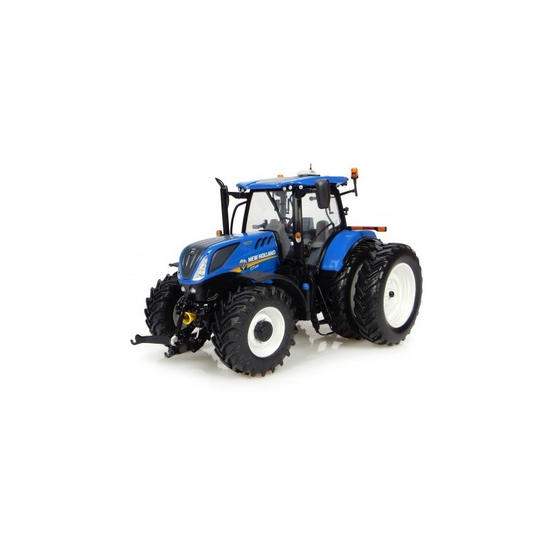 Tractor NEW HOLLAND T7.225 6 ruedas - Miniatura 1:32 - UH 4962