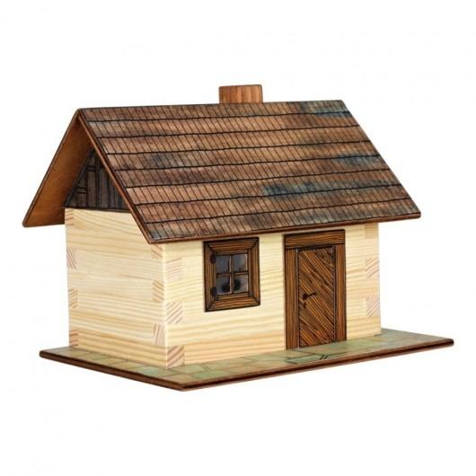 CABAÑA de campo de madera para construir - Miniatura 1:32 - Walachia 01