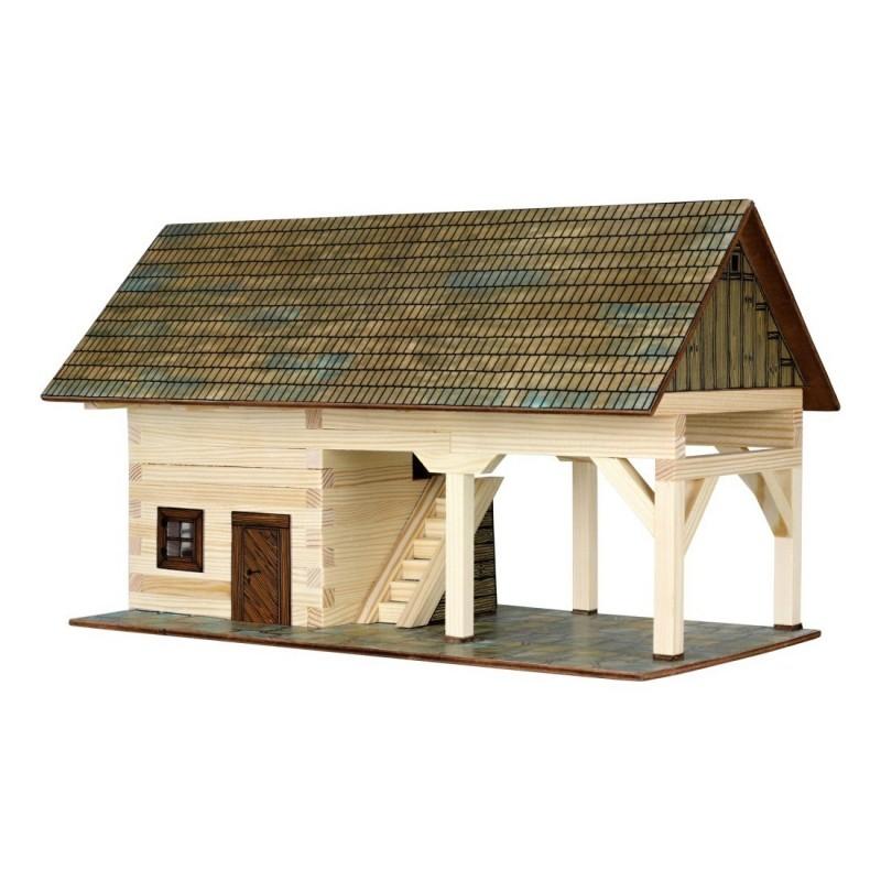Cobertizo de madera para construir 1 32 walachia 17 - Cobertizo de madera ...