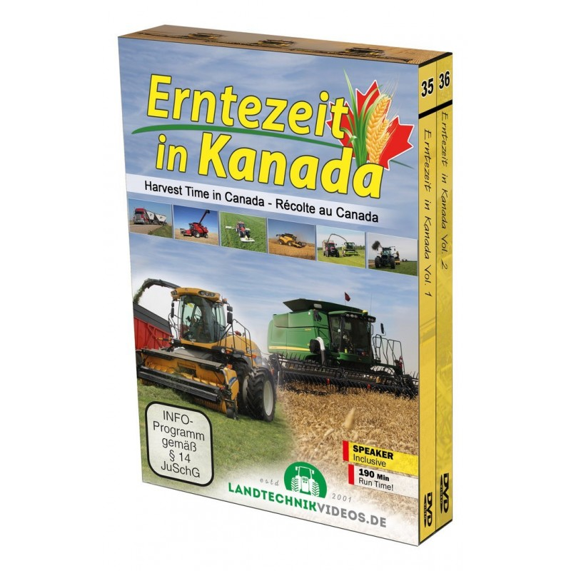 HARVEST TIME IN CANADA (EN) - Caja con 2 DVDs