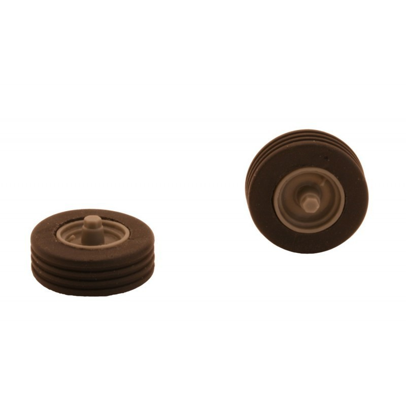 Par de RUEDAS de calibre 01 - Miniaturas 1:32 - Artisan 04207