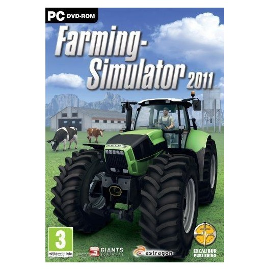 SIMULADOR FARMER 2011 - Videojuego PC - 80010103