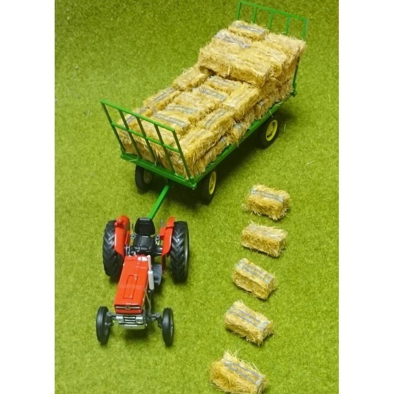 Set de 5 pacas artesanales - Miniaturas 1:32 - Artisan 04852-5