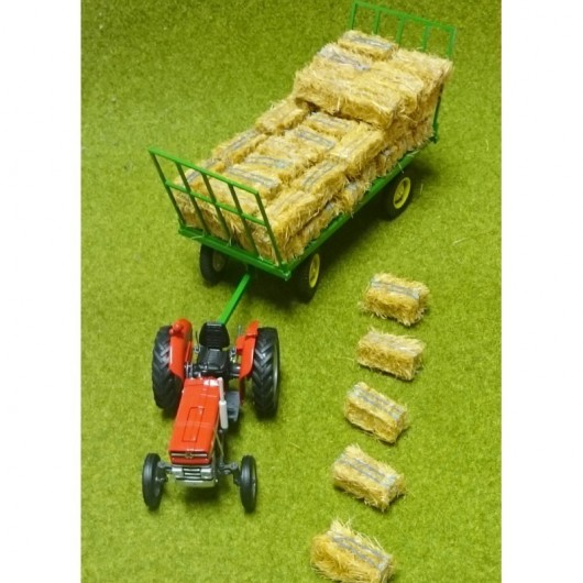 Set de 5 pacas de paja - Miniaturas 1:32 - Artisan 04852-5