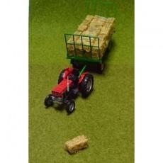 Pacas de paja artesanal - Miniaturas 1:32 - Artisan 04852-1