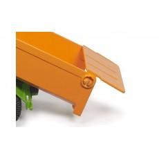 NEW HOLLAND con cargador frontal y mezcladora de pienso Strautmann - Miniatura 1:50 - Siku1988