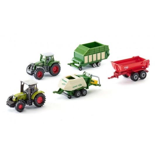 Caja regalo de 5 MAQUINAS AGRICOLAS - Miniatura - Siku 6286