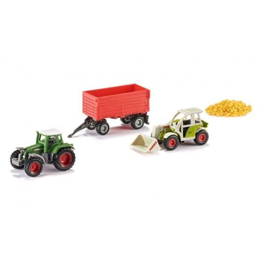Caja regalo 5 piezas AGRICULTURA - Miniatura - Siku 6304