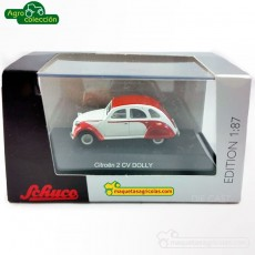 Citroen 2CV Dolly - Miniatura 1:87 - Schuco 452608700