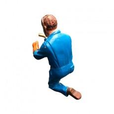 Fred soldando - Miniatura 1:32 - ADF 32127 de espalda