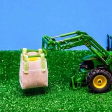 Conjunto 2 Big Bag con maíz ejemplo 2