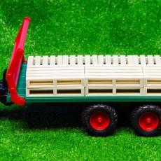 Conjunto de 8 palets de madera ejemplo de uso