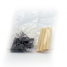 Kit de banco de madera piezas