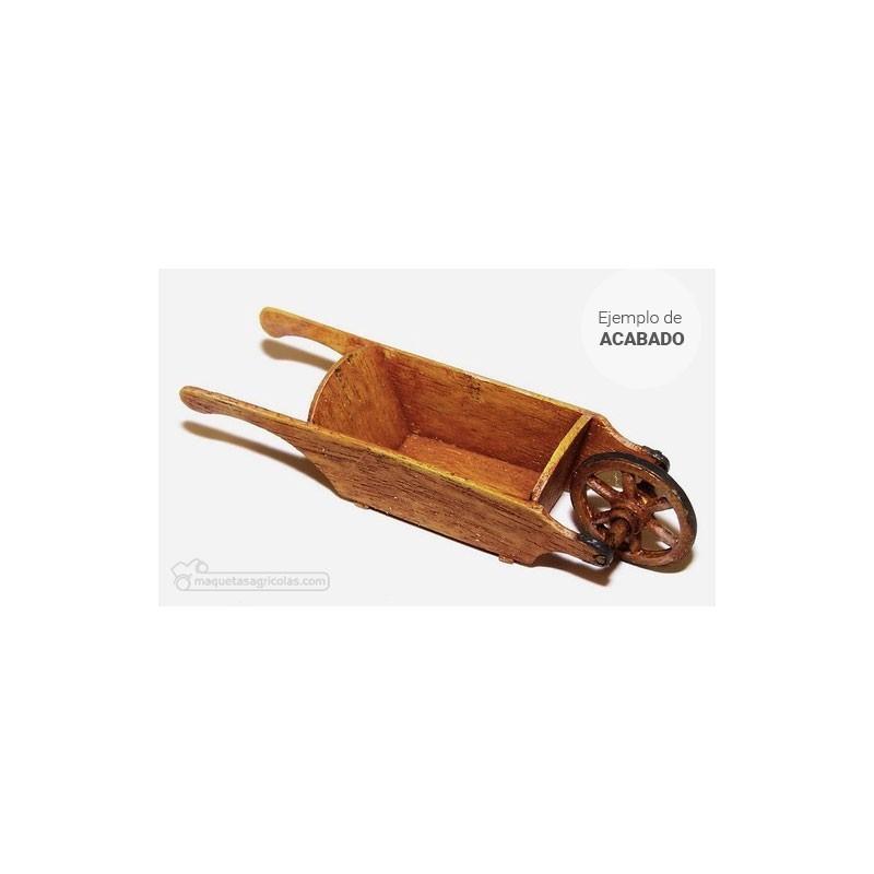 Kit carretilla de madera ejemplo